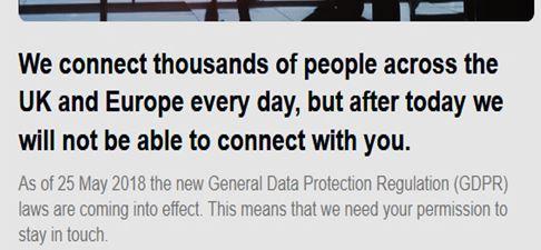 Datenschutzgrundverordnung Online Marketingrecht